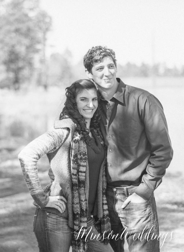 Brian Minson Weddings Photography Pinetop Arizona Kodak Portra FIlm