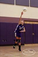 Blue RIdge Jr High vs St Johns Jr High Volley Ball