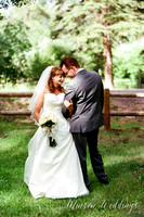 Red Setter Greer Arizona Minson Wedding Photo rustic mounitan kodak pentax645
