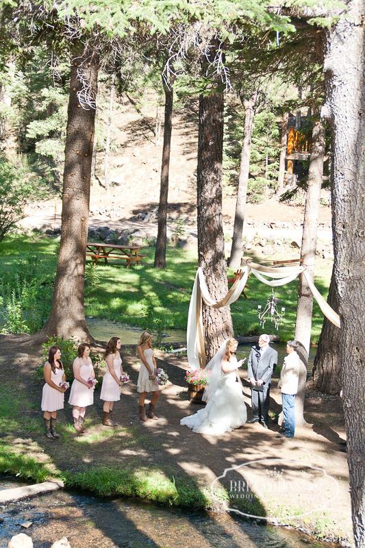 Chere & Mitch Wedding Red Setter Greer Arizona Brian Minson Photography