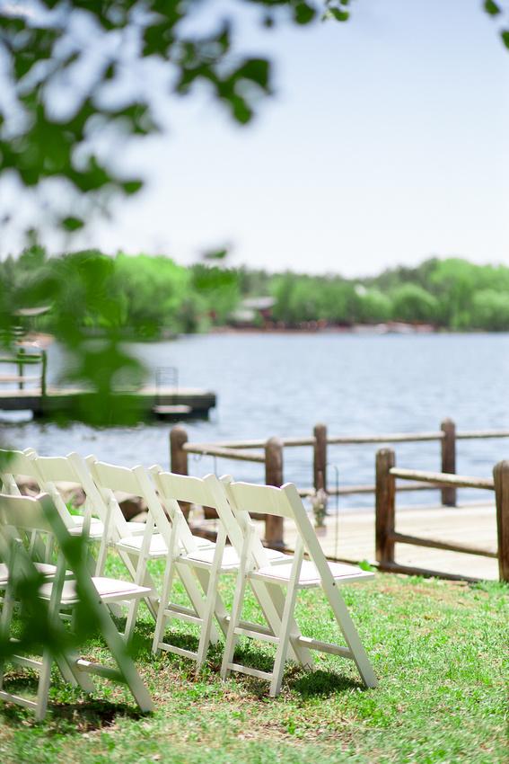 Modern Mountain Wedding in Arizona lakeside brian minson photography