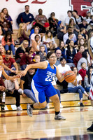 Florence Gophers vs Coolidge Bears Girls High School Varsity Basketball game arizona sports brian minson 480sports