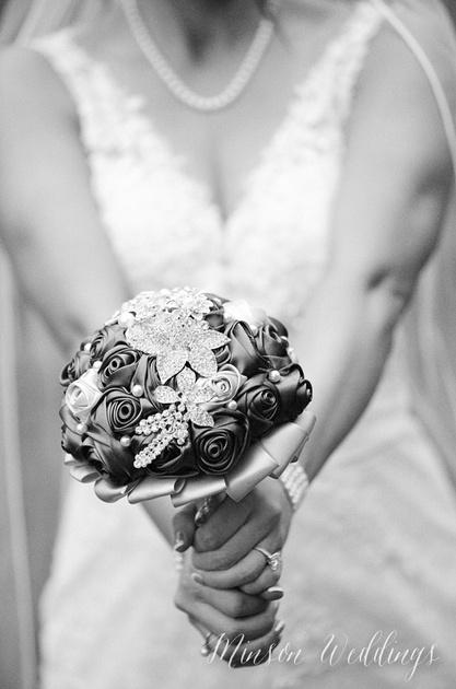 Greer Film Kodak Black and White Wedding Brian Minson