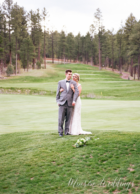 Torreon Golf Show Low Arizona Wedding Mountain Kodak Portra Pentax 645 medium format film Brian Minson Photography