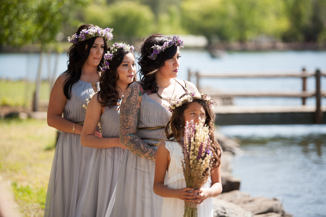 Modern Mountain Wedding in Arizona lakeside brian minson photography