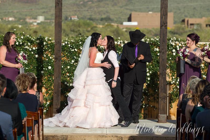 The Paseo Wedding Apache Junction Arizona same sex couple modern wedding brian minson photography