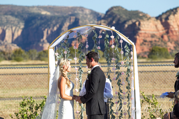 Beautiful Sedona Red Rock Wedding Arizona Brian Minson Mesa Grill Brian Minson