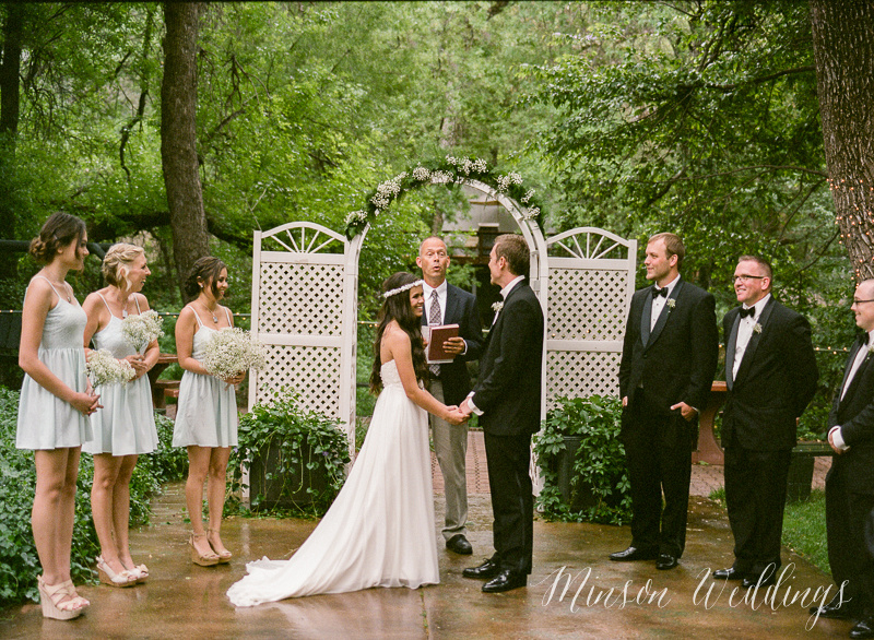 Merry & Robert's Indian Garden Wedding Sedona Arizona Wedding Brian Minson FujiFilm 400h Pentax 645n