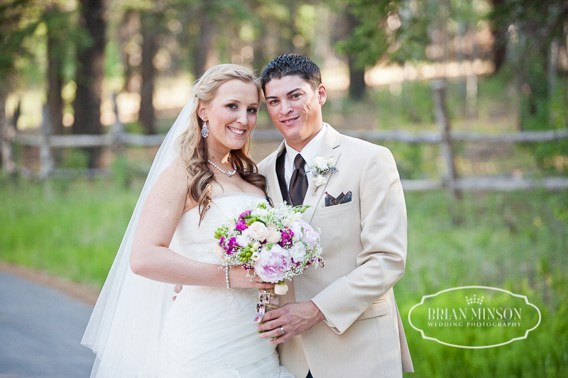 Chere & Mitch Wedding Red Setter Greer Arizona Brian Minson Photography
