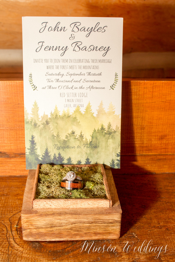 White Mountian Rustic Wedding New Hampshire Arizona Brian Minson Red Setter Inn Greer